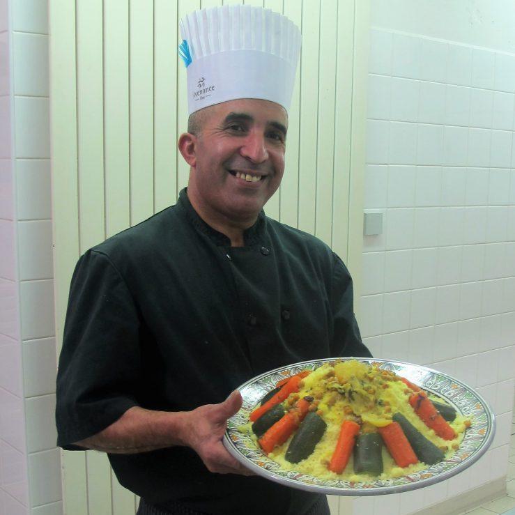 Portrait Driss cuisine